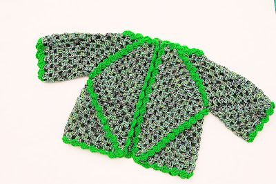 6 - Crochet IMAGEN Chaqueta de exagonos a crochet y ganchillo. MAJOVEL CROCHET