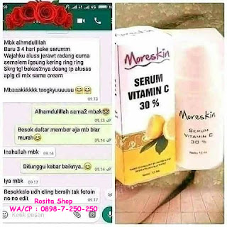 Testimoni serum vit c nasa