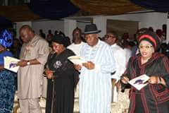 """Yenagoa stands still as Jonathan, others pay last respects to Alamieyeseigha"""""""
