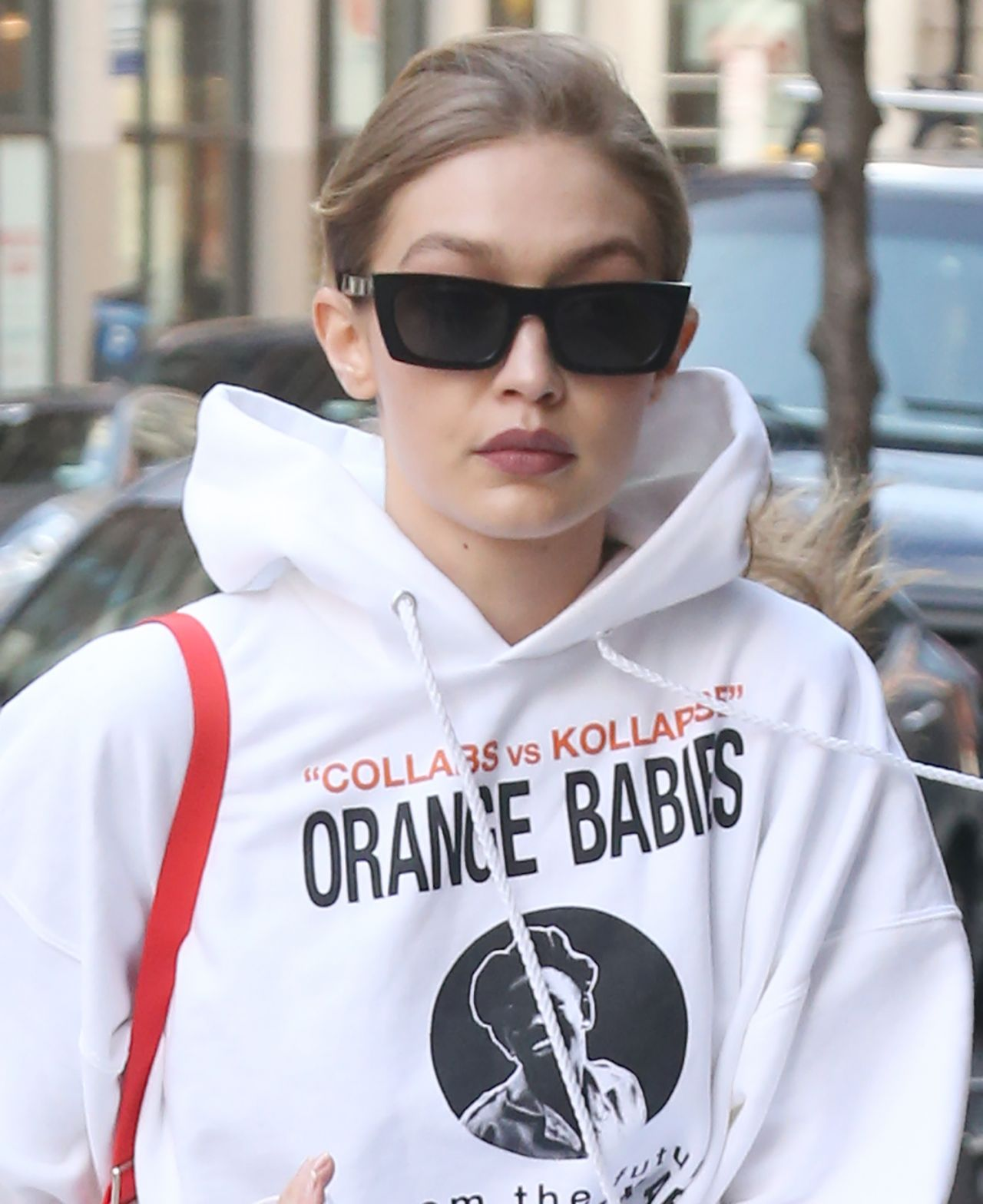 Gigi Hadid – Arriving at Her Apartment in NYC