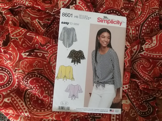 Simplicity blouse sewing pattern 8601 — jaycotts.co.uk - Sewing Supplies