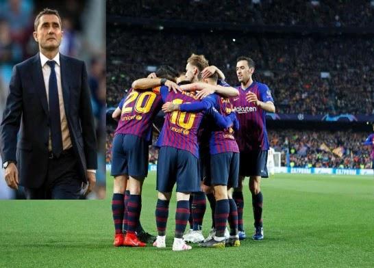 برشلونة ينهى الجدال حول رحيل المدرب فالفيردي