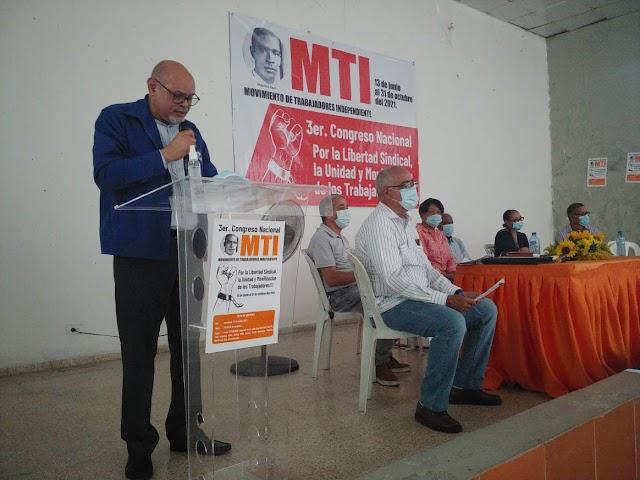Movimiento de Trabajadores Independiente realizó la apertura al 3er congreso