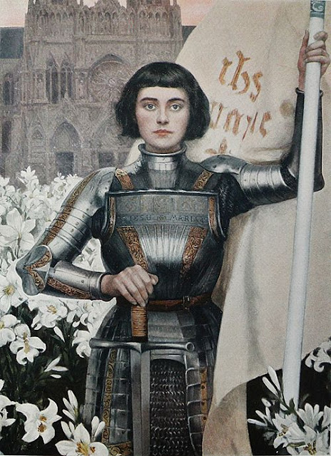 Saint Joan Of Arc Albert Lynch 1851-1912