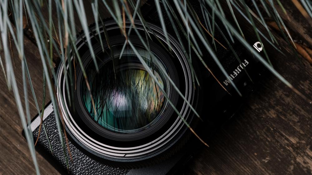 Объектив и камера Fujifilm
