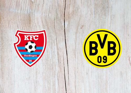 Uerdingen vs Borussia Dortmund - Highlights 9 August 2019