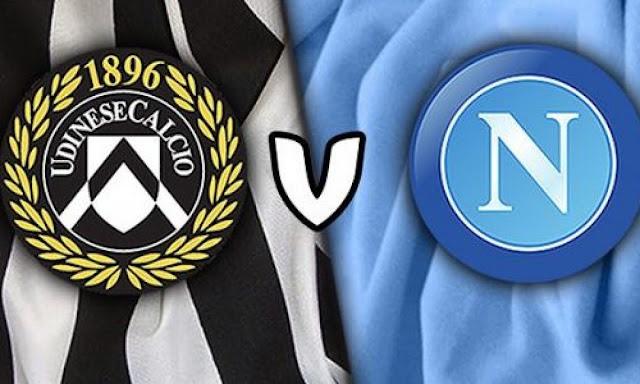 مشاهدة مباراة نابولي وأودينيزي بث مباشر