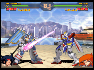 Gundam Battle Assault screenshot 1