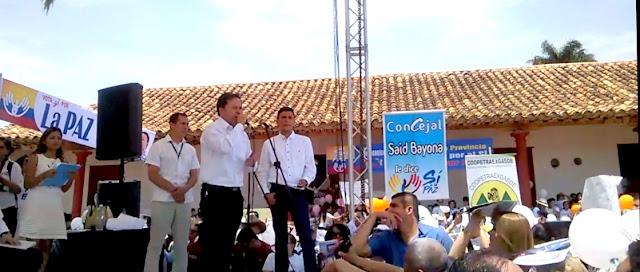 #RSY | En Ocaña GoberNorte William Villamizar invita al Sí por el Plebiscito y Sí a la Paz
