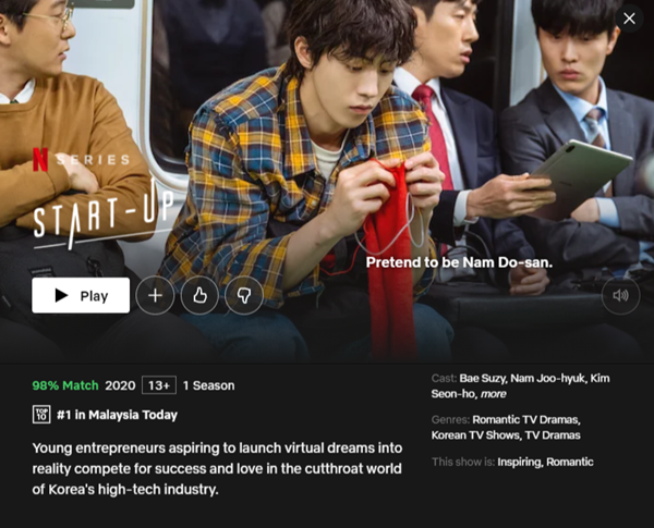 Netflix popular korean Drama