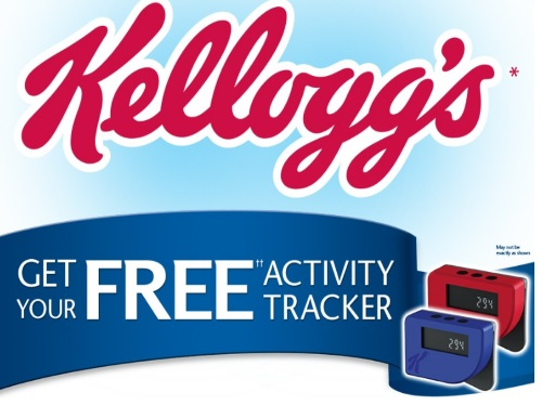 Kelloggs Free Activity Tracker