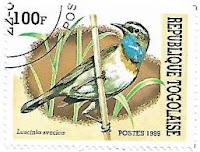 Selo Pisco-de-peito-azul