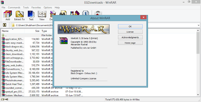 WinRAR 4.50 Latest