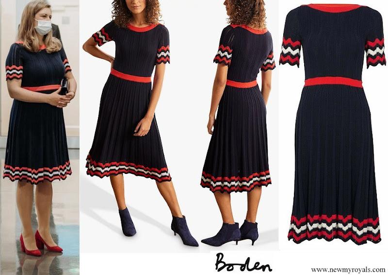Princess Stephanie wore Boden Agnes Pointelle Dress