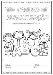 CADERNO DE ALFABETIZAÇÃO -  DOWNLOAD
