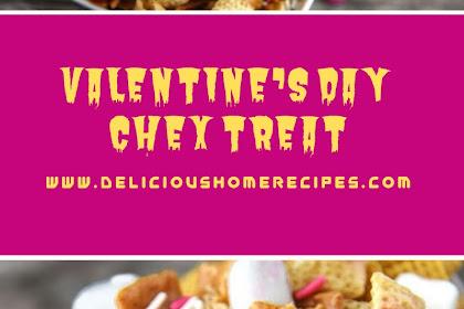 Valentine's Day Chex Treat #valentine #snack