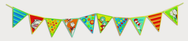 Dr. Seuss Banner Classroom Decorations