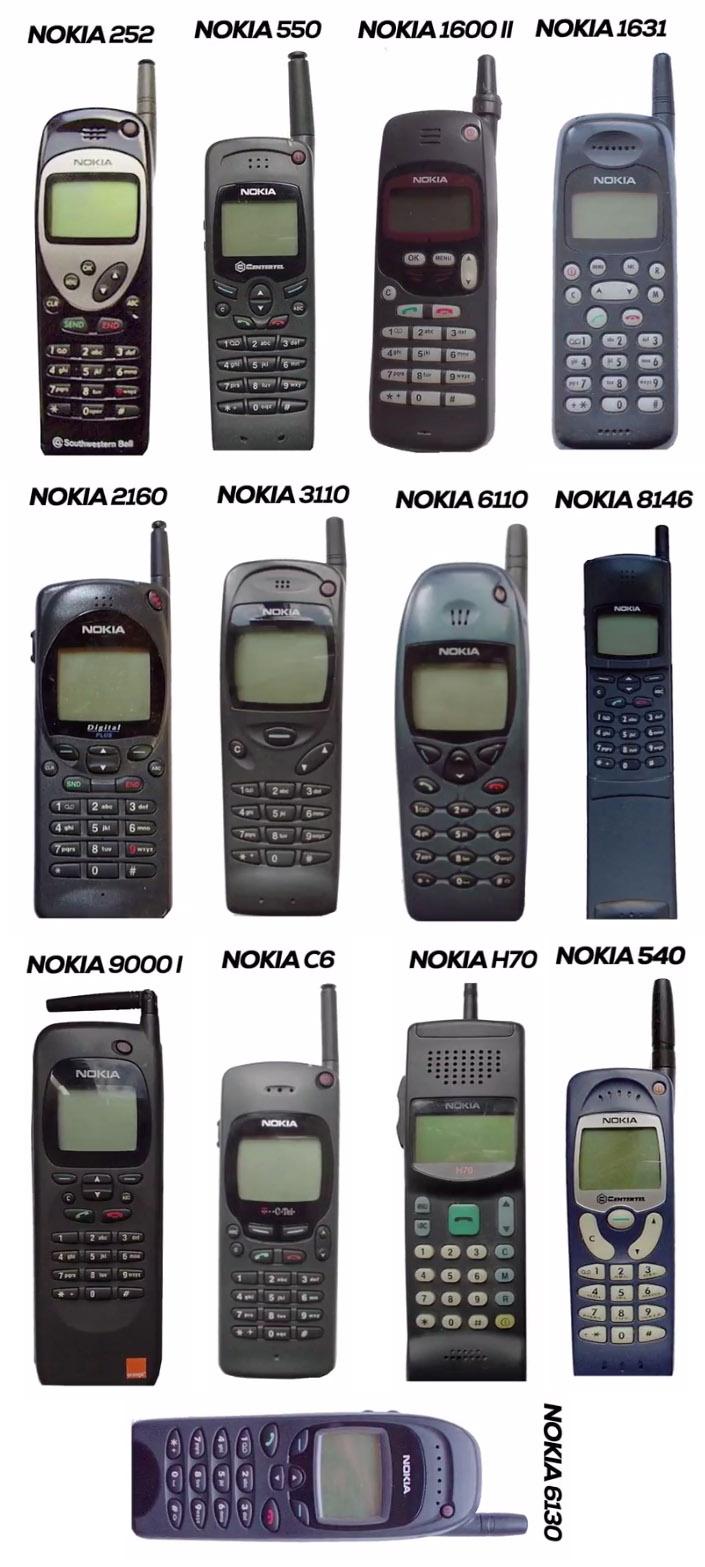 Nokia Mobile Phones in 1997