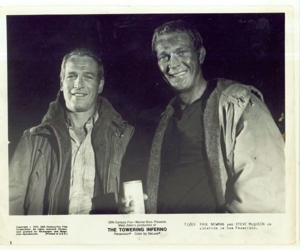 7d27277443d5 Terrace Gent  Style Icon Steve Mqueen   Paul Newman The Towering Inferno