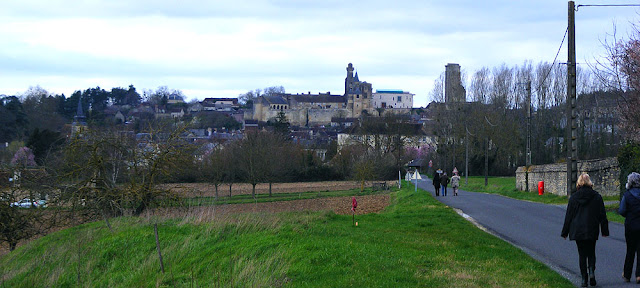 View of Le Grand Pressigny, chateau and museum of prehistory.  Indre et Loire, France. Photographed by Susan Walter. Tour the Loire Valley with a classic car and a private guide.