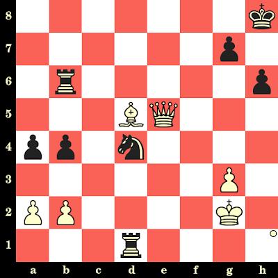 Les Blancs jouent et matent en 4 coups - Dronavalli Harika vs Meri Arabidze, Saint-Pétersbourg, 2018