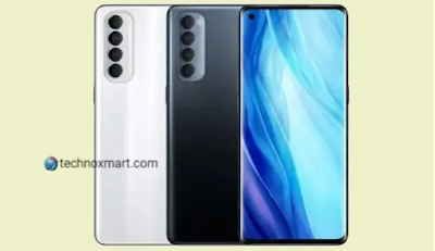 Oppo Reno 4 SE Price, Specifications Renders Online; Said To Support 90Hz Display Screen And 65W Fast Charging