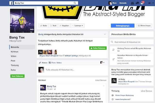 Cara Undang Massal Teman Untuk Menyukai Fanpage Facebook