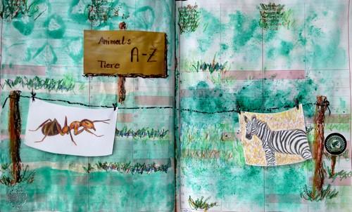 rike 39 s art a wie ameise z wie zebra. Black Bedroom Furniture Sets. Home Design Ideas