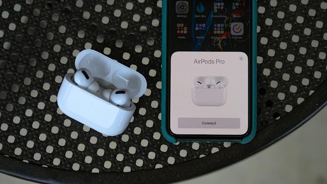 آبل AirPods برو عملية الاقتران iPhone