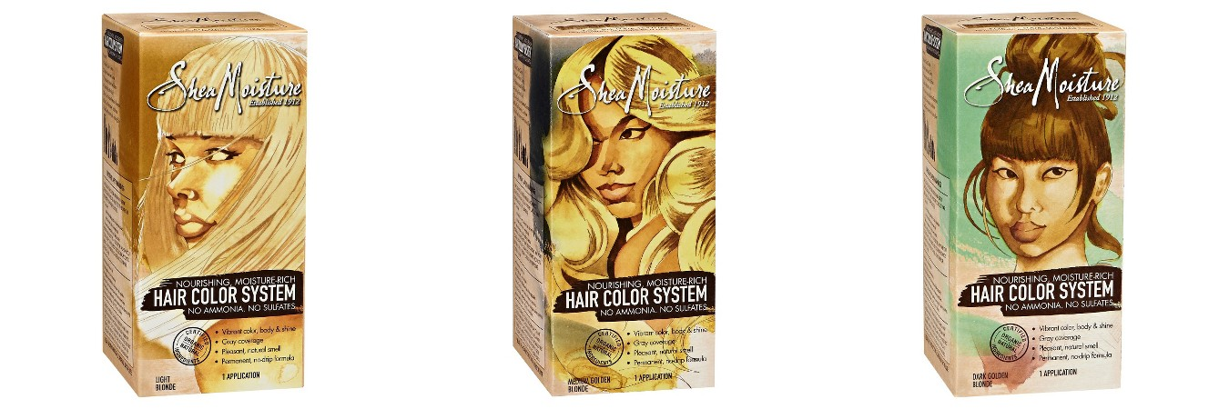 Today Only Target Shea Moisture Hair Color System 505 A Box Wyb