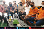 Sat Resnarkoba Polresta Mataram Musnahkan Narkotika Jenis Sabu Dengan Cara di Blender