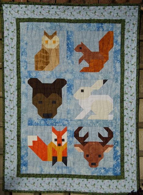 animal quilt block