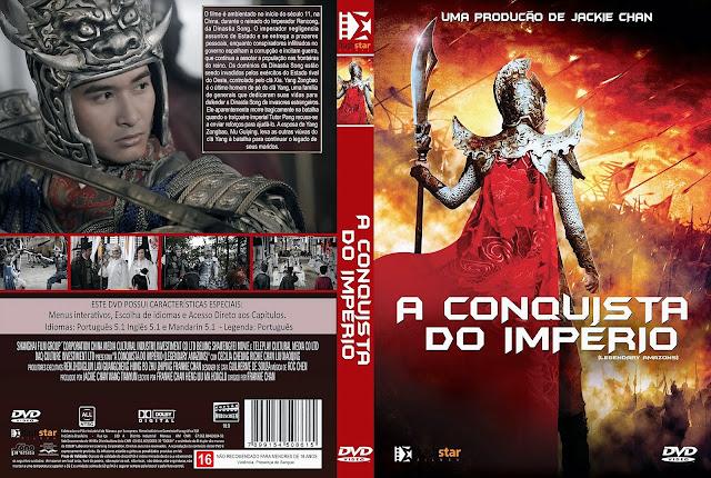 Capa DVD A Conquista do Império