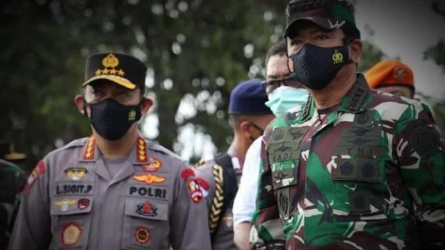 Lecehkan Duka Kapal Selam TNI, Oknum Polisi Nodai Kemesraan 2 Jenderal