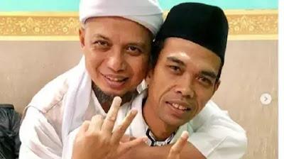 Pantesan Aja UAS Tak Muncul Saat Pemakaman Ustadz Arifin Ilham, Mengejutkan UAS Ternyata?