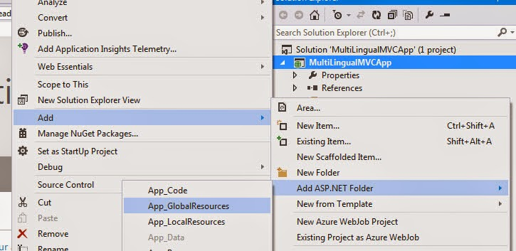 Ramchand's Blog: Multilingual MVC Application With