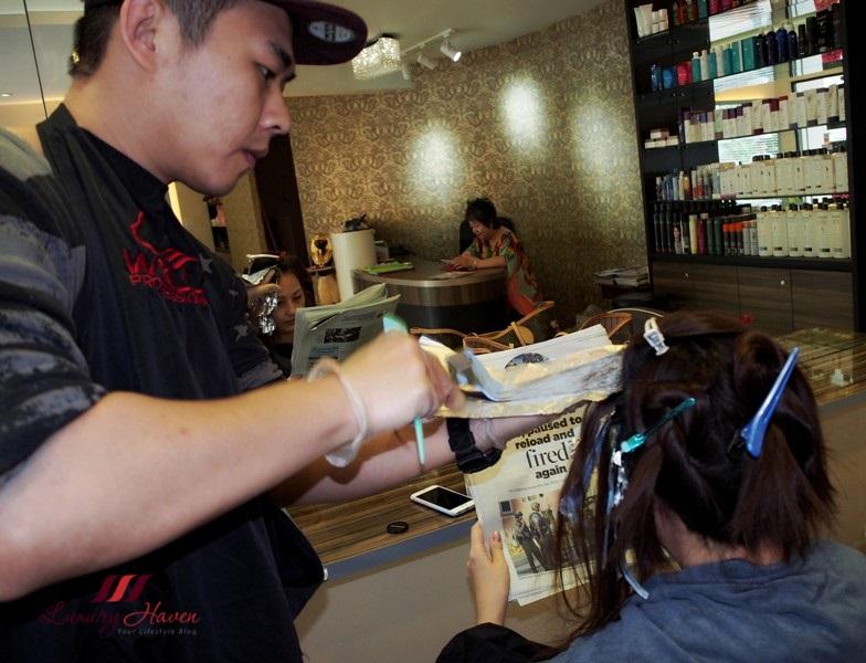 singapore hair salon wella hair colour christmas deals