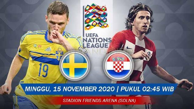 Prediksi Swedia Vs Kroasia, Minggu 15 November 2020 Pukul 02.45 WIB @ Mola TV