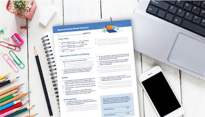 Printables to Help Create Healthy Media Boundaries
