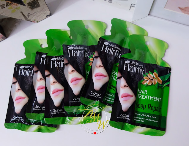 a photo of Hairfix Hair treatment products review