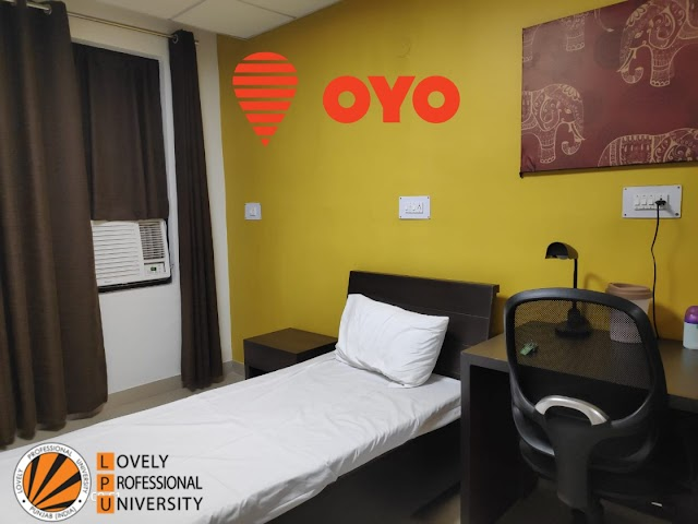 Sample Of OYO Rooms In LPU Hostels - Lovely professional University Jalandhar Punjab