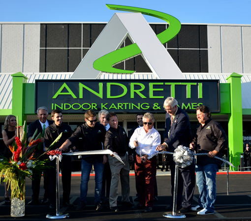 Andretti Family Racers | Andretti Karting, Marietta | Photo: Travis S. Taylor