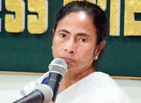 Chief Minister Mamata Banerjee in Siliguri