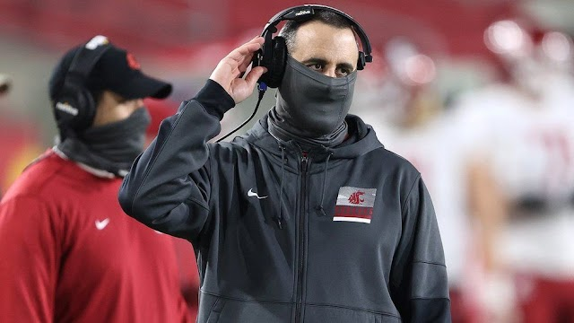 Scratch Rolovich: Washington State football trainer terminated for declining Covid antibody