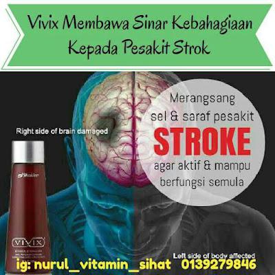 testimoni vivix shaklee untuk penyakit stroke