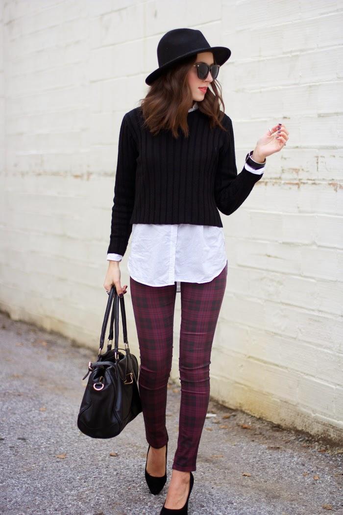 plaid-jeans
