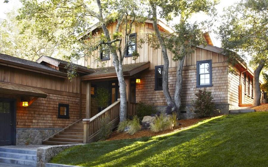 Dom w Kalifornii ze składaną, szklaną ścianą, wystrój wnętrz, wnętrza, urządzanie domu, dekoracje wnętrz, aranżacja wnętrz, inspiracje wnętrz,interior design , dom i wnętrze, aranżacja mieszkania, modne wnętrza, styl klasyczny, styl Hampton,