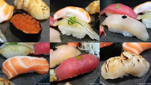 Collage Fotor - 熱血採訪│鯣口鮮板前料理/壽司/外帶,繽紛水果與日式料理結合的創意美食,帶給味蕾不同的驚喜!