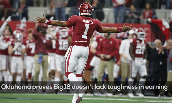 Oklahoma proves Big 12 doesn't lack toughness in earning