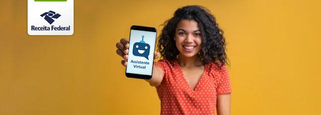 aplicativo assistente virtual de imposto de renda